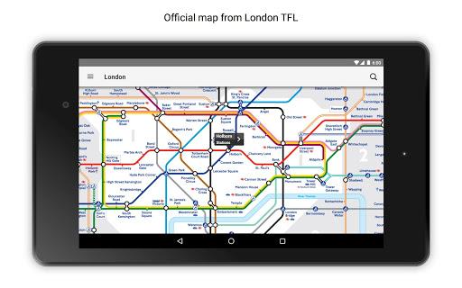 London Underground Free screenshot 17