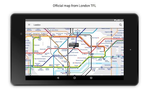 Tube Map London Underground 17