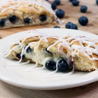 Blueberry Cream Cheese Braid.