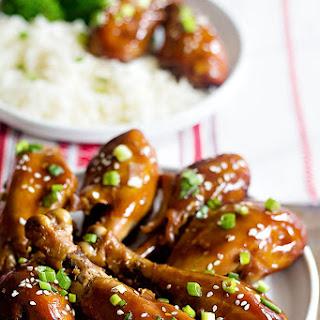 Slow Cooker Honey Garlic Chicken.