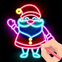 Draw Glow Christmas 2021 icon