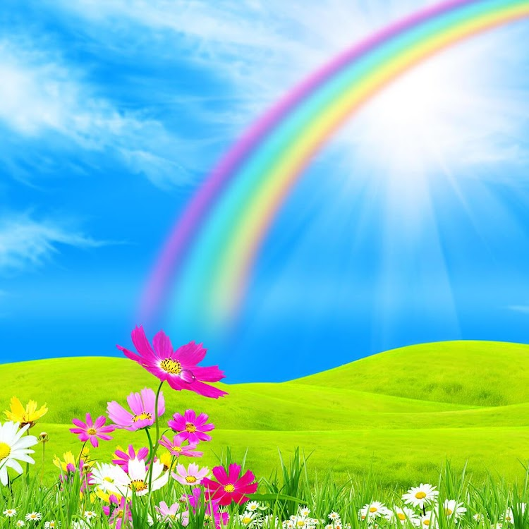 Rainbow Live Wallpaper Android Apps Appagg
