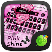 Pink Shine GO Keyboard Theme