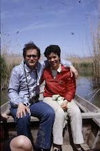 Photo: Maggio 1983. In barca sul delta del Po