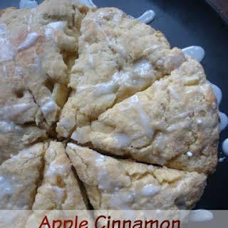 Apple Cinnamon Scone.
