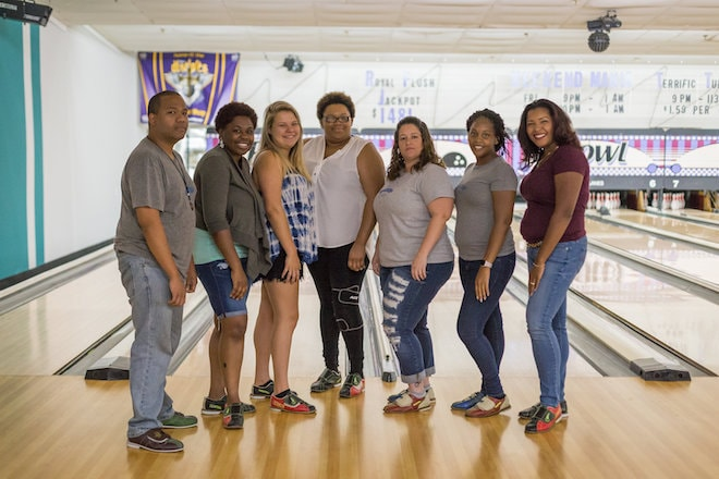remote meetup fayetteville bowling group
