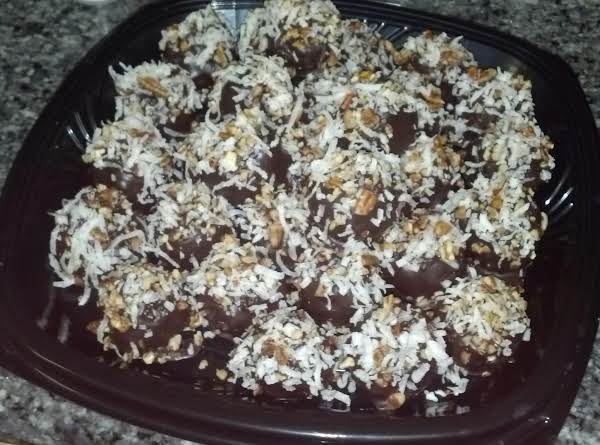 German Chocolate Cake Balls Recipe