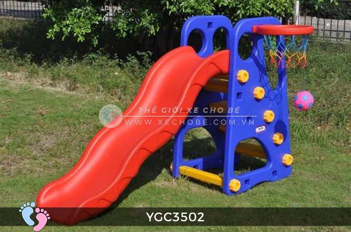 Cầu trượt bóng rổ cho bé YGC-3502 1