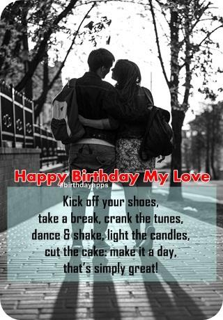 Happy Birthday My Love photos 2