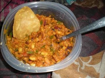 Spicy Bean Taco Filling Recipe