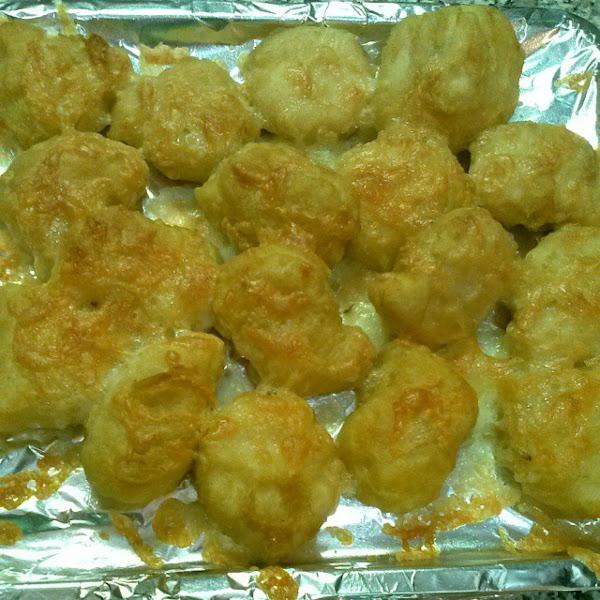 Alec's Cheesy Chicken Nuggets Recipe