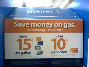 Photo: Sign as soon as I walked through the door letting me know I can save up to $0.15 a gallon on Gas at MurphyUSA!