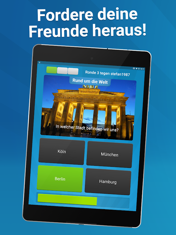 Quizduell PREMIUM – Screenshot
