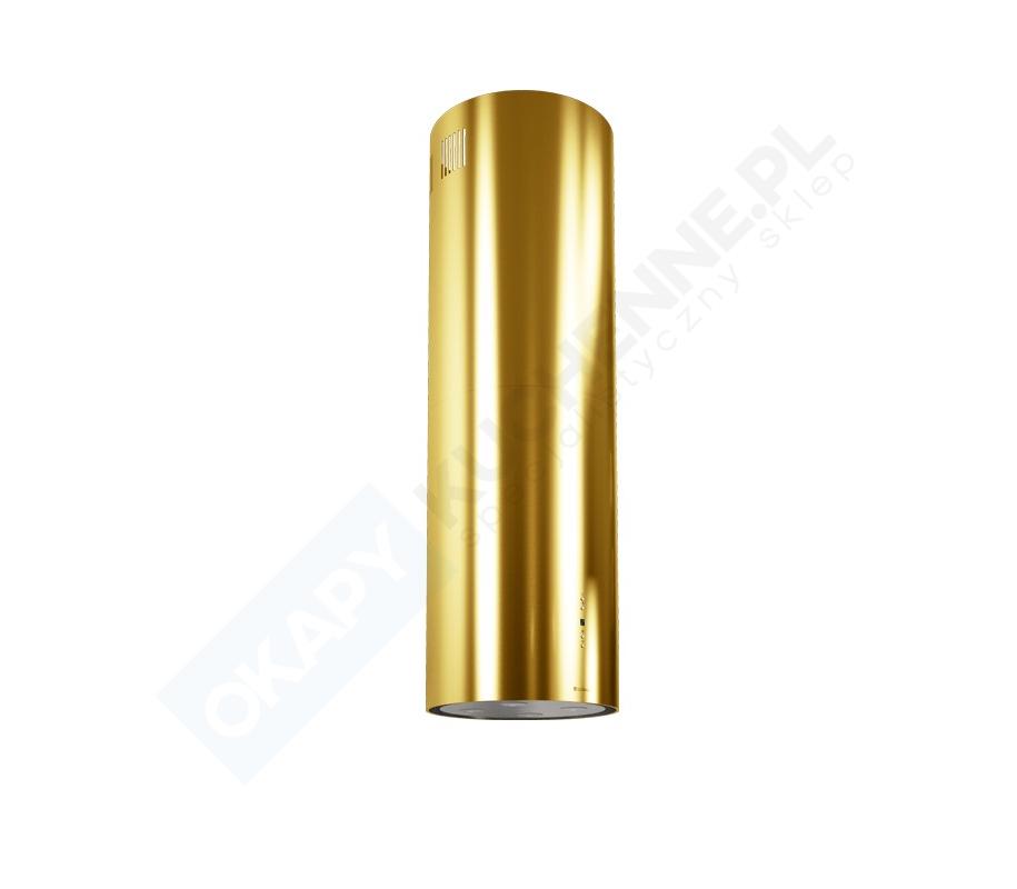 Złoty okap Globalo Cylindro Isola