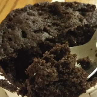 Microwave Chocolate Mug Cake Recipe