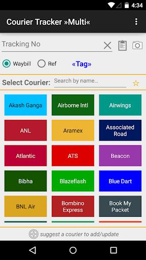 Courier Tracker »Multi« screenshot 1