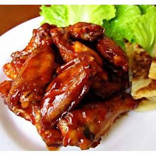 Easy Chicken Wings.
