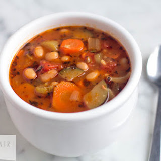 Easy Vegetable and Canellini Bean Soup
