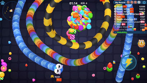 Snake Candy.IO - Real-time Multiplayer Snake Game 3189.3.6.4 screenshots 17