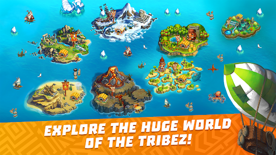 The Tribez: Build a Village Mod Apk Download For Android and Iphone 6