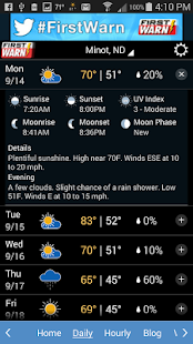 KMOT-TV First Warn Weather- screenshot thumbnail