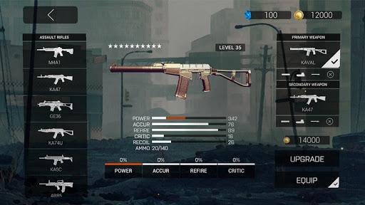 Télécharger Gratuit Zombie Gunfire mod apk screenshots 5