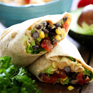 Southwest Vegetable Wrap Recipes