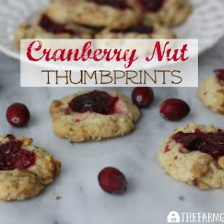 Cranberry Nut Thumbprints