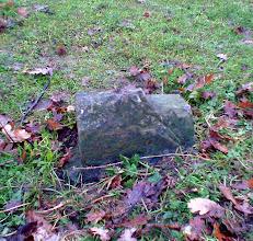 Photo: Boundary Stone 8, looking S towards the river