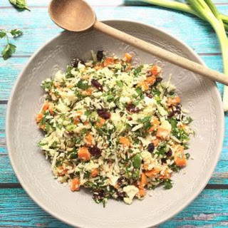 Sweet Potato and Cauliflower Tabbouleh.