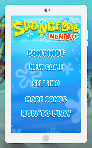 Memory Sponge Kids Games 1.0 screenshots 4