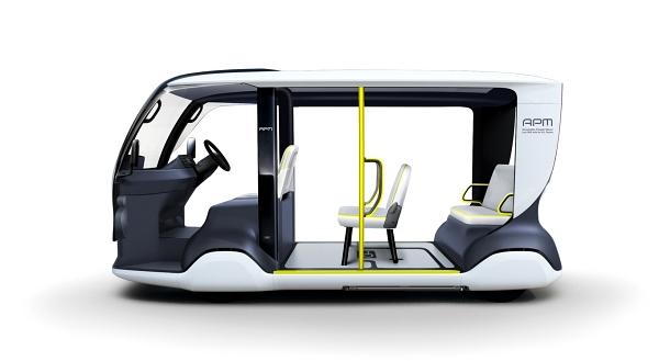 ออกแบบให้เข้าออกง่าย ด้วยห้องโดยสารโปร่ง