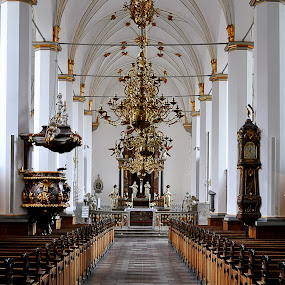 Trinitatis Church, Copenhagen by Steve Corcoran - Buildings & Architecture Places of Worship ( copenhagen, church, trinitatis kirke, sacred tirinty, kirke, trinitatis, denmark, trinitatis church )
