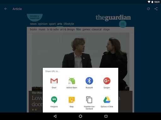 Guardian Reader screenshot 13