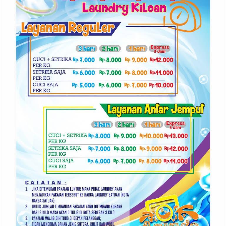 Armys Laundry Kiloan Satuan Layanan Binatu