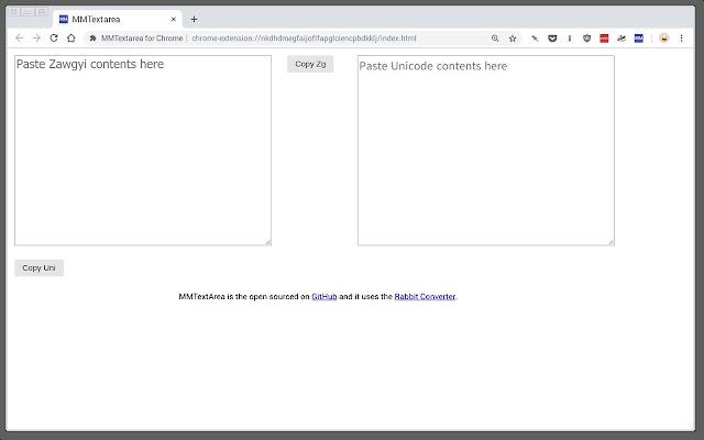 MMTextarea for Chrome