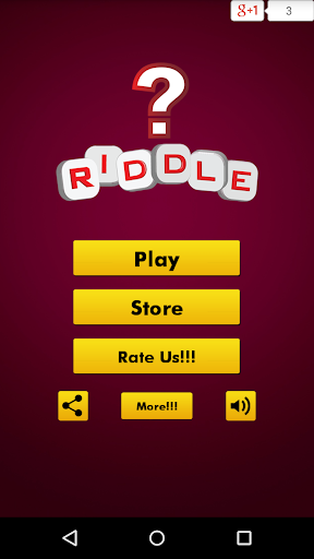 Riddle Quiz~Brain Teasers Game
