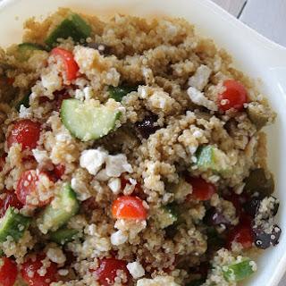 Simple & Delicious Greek Quinoa Salad