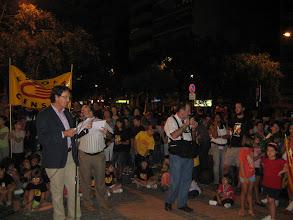 Photo: Lectura del Manifest del Correllengua 2011 a Castelló de la Plana. Divendres 30 de setembre de 2011.