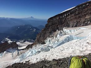 Photo: Ingram Glacier Looking Towards Camp Muir