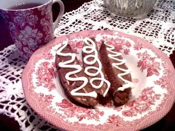 Brownie Almond Biscotti