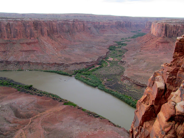 Mouth of Horseshoe Canyon