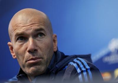 Zidane ne s'attend pas à être nommé entraîneur de l'année
