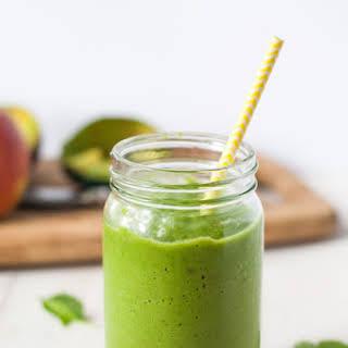 Avocado Super Green Smoothie.