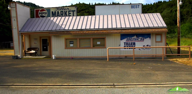 The town of Tiller, Oregon. PictureL YOUTUBE