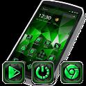 Metrik 3 - Green Tech HD Theme icon