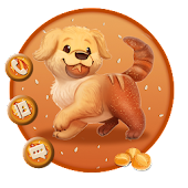 Pretty Bread Doggy Themes Live Wallpapers
