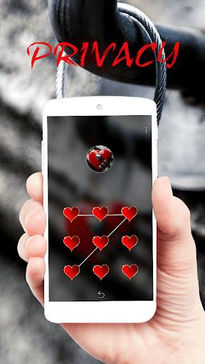 Red Heart Lock Eternal Theme  screenshots 2