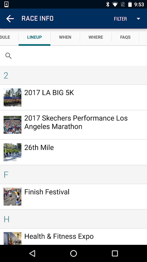 Los Angeles Marathon- screenshot