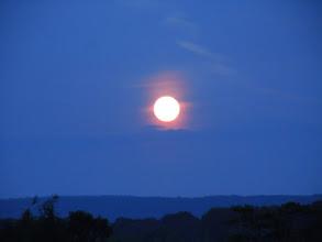 Photo: Full moon on Visakha Puja, Buddhajayanti 2600 years